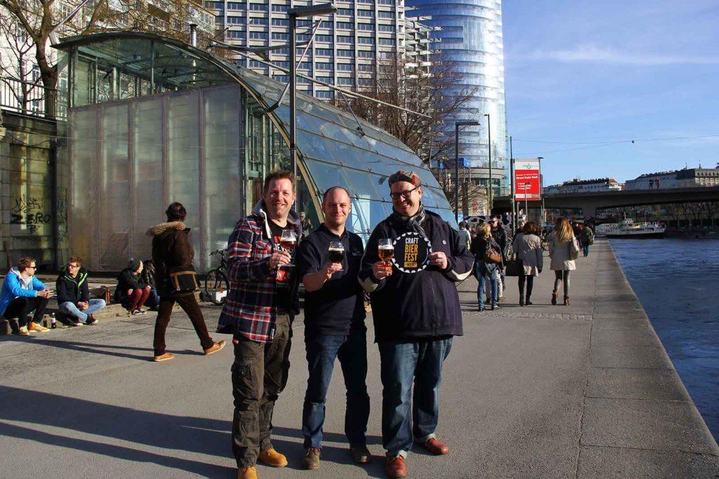 Das Team des Craft Bier Fest Wien