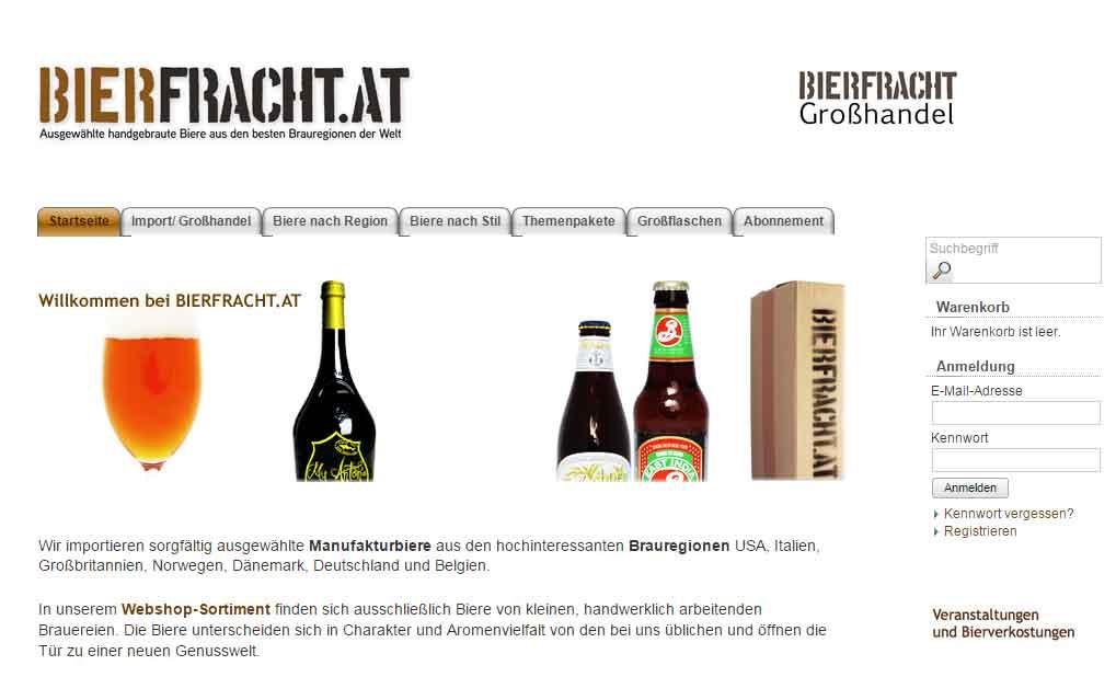 Bierfracht-Startseite