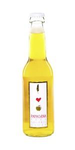Papagena Bio-Cider aus dme Brauhaus Gusswerk in der 0,33l-Flasch