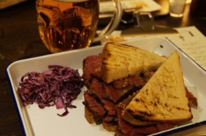 Pastrami Sandwich vom Brickmakers