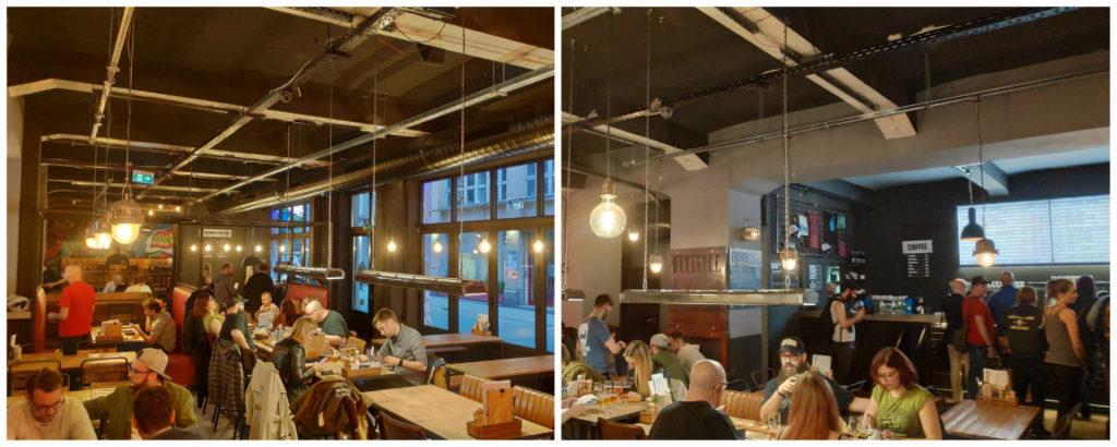 Die BrewDog-Bar in Budapest von innen