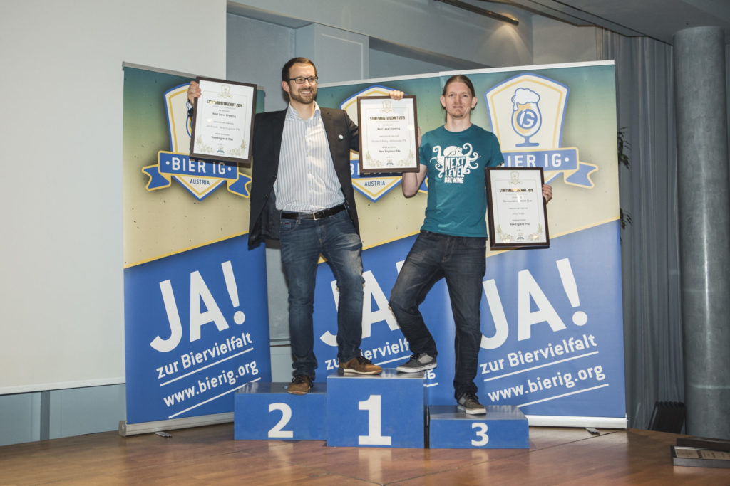 Alexander Beinhauer und Johannes Grohs von Next Level Brewing