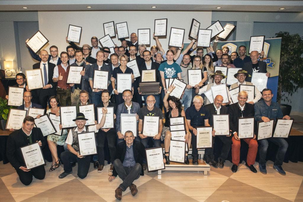 Die Gewinner der Austrian Beer Challenge 2019