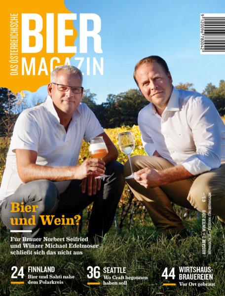 Das aktuelle Cover des österreichischen Bier Magazin