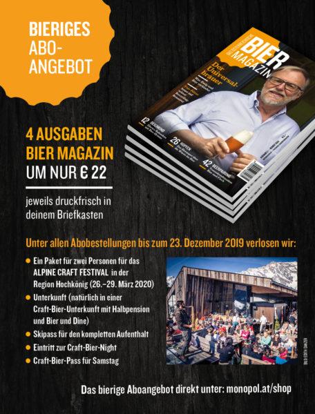 Abo-Angebot Bier Magazin