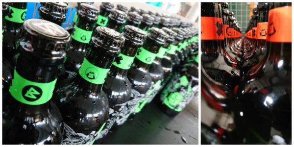 Barrel-Born-Flaschen - Version Grün und Rot
