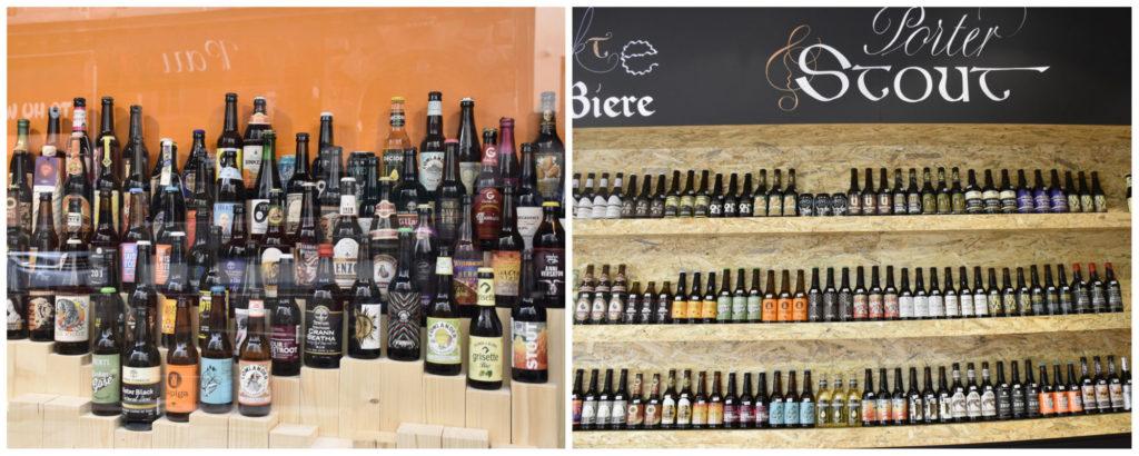 Auslage und Stout-Abteilung der Bierothek