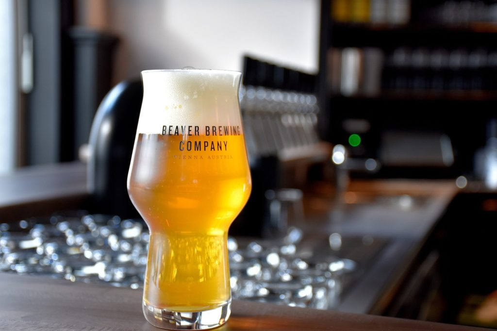 Ein Bier in der Beaver Brewing Company
