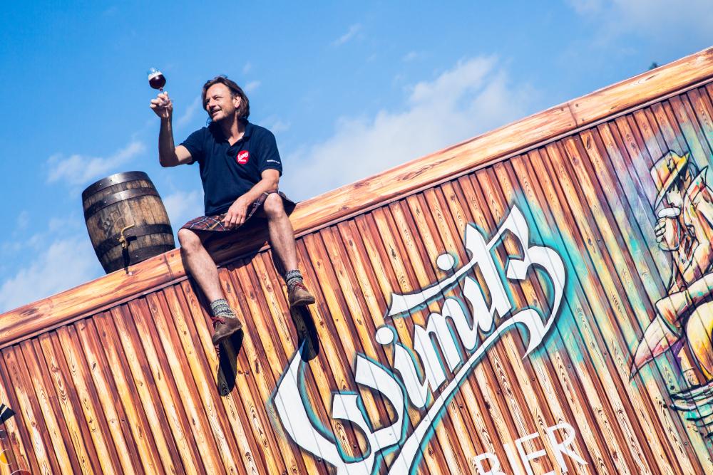 Seit zehn Jahren braut Josef Habich mit seinem Team im Kärntner Wimitztal naturbelassenes Bier.