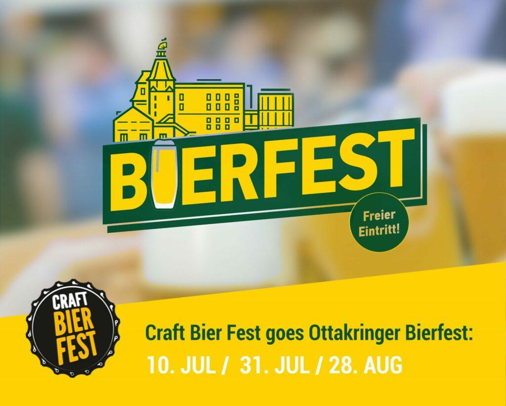Craft Bier Fest goes Ottakringer Bierfest Veranstaltungs Shareable.